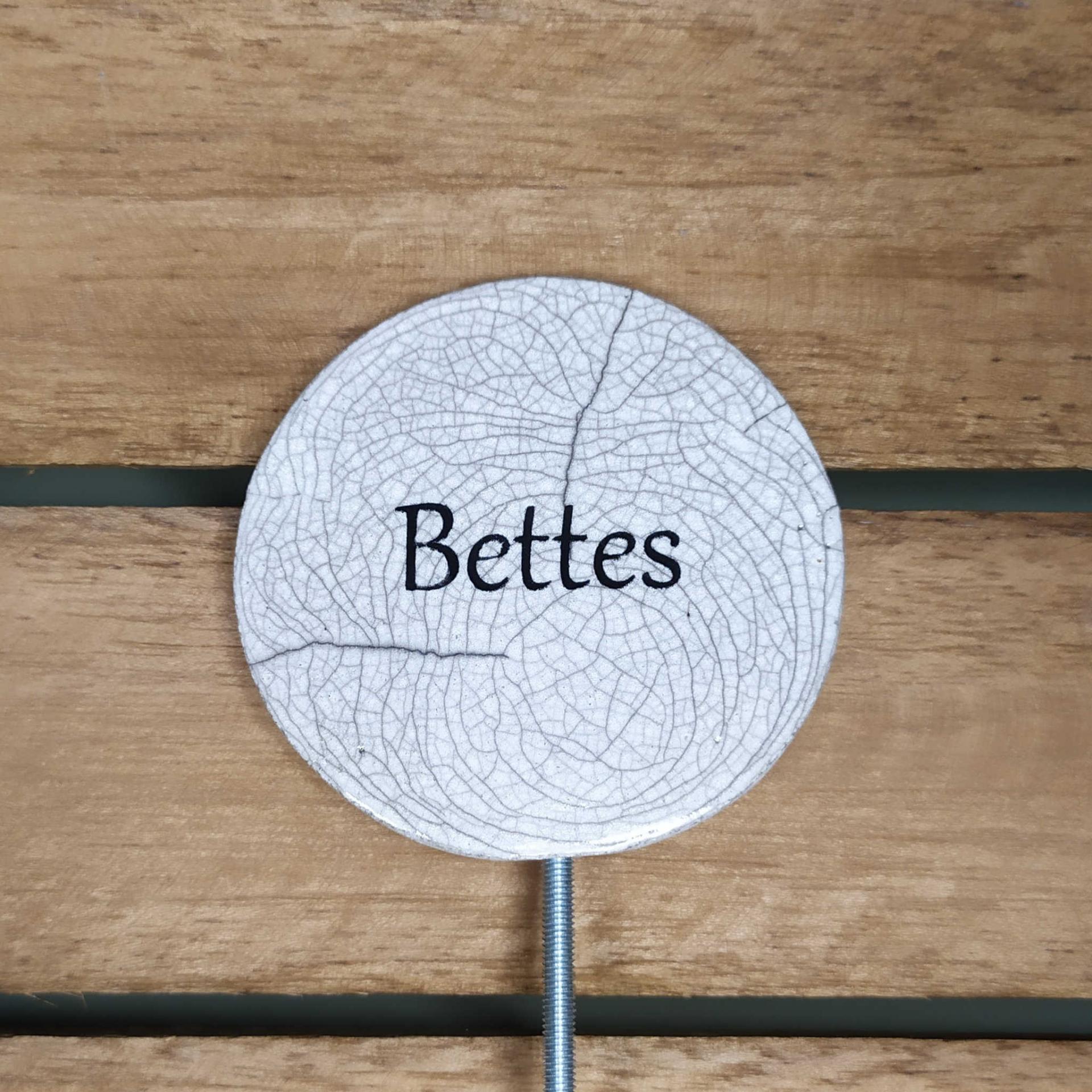 Etiquette potager bettes