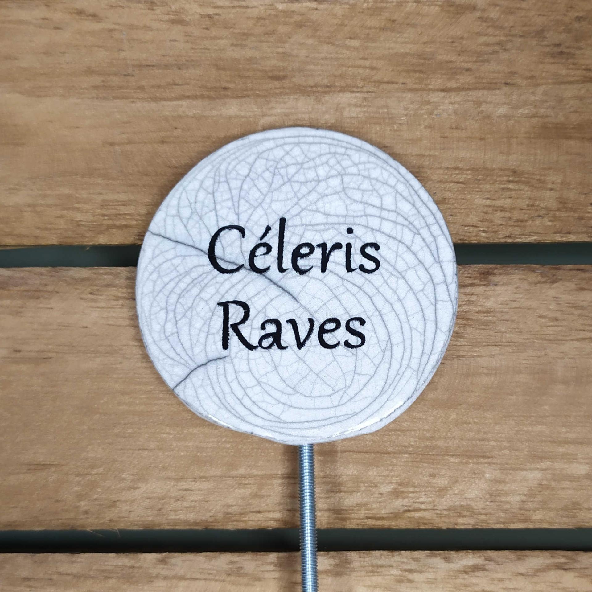 Etiquette potager celeris raves