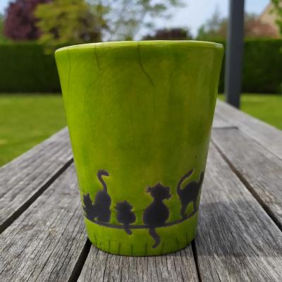 Mug Chat Vert