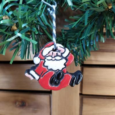 Mon Père Noël sur les fesses