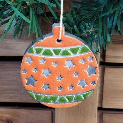 Boule étoilée Orange