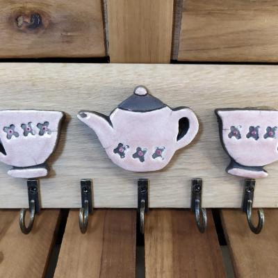 Patère Service à thé
