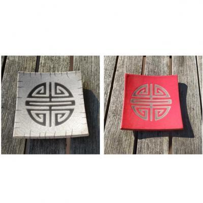 Coupelle Symbole japonais