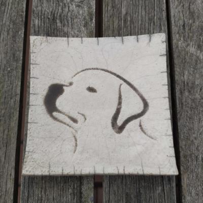 Coupelle Tête de chien