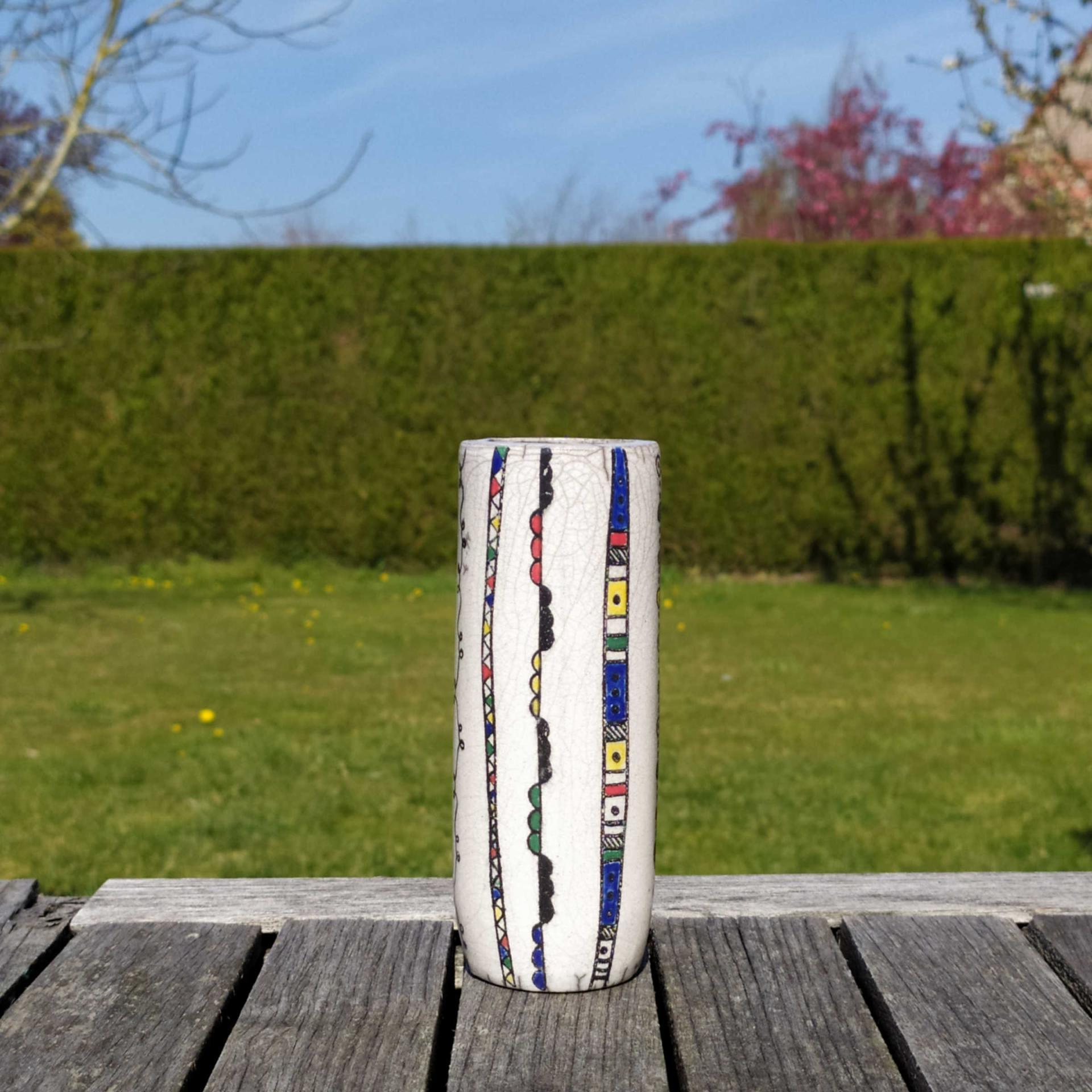 Vase petit tube ethnic4