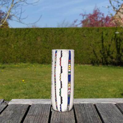 Vase Petit Tube Ethnique