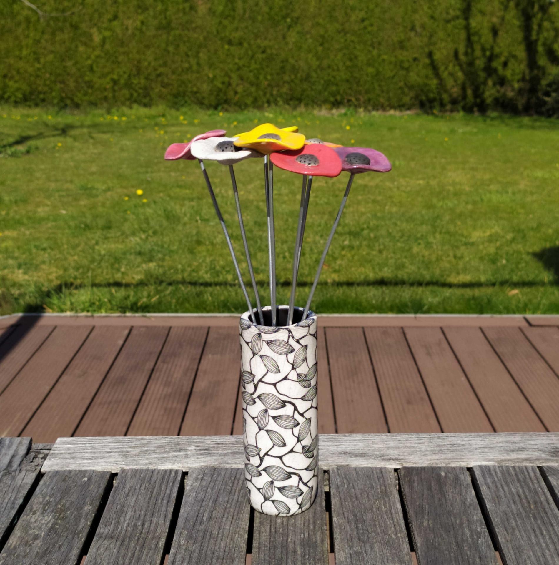 Vase petit tube feuillage2