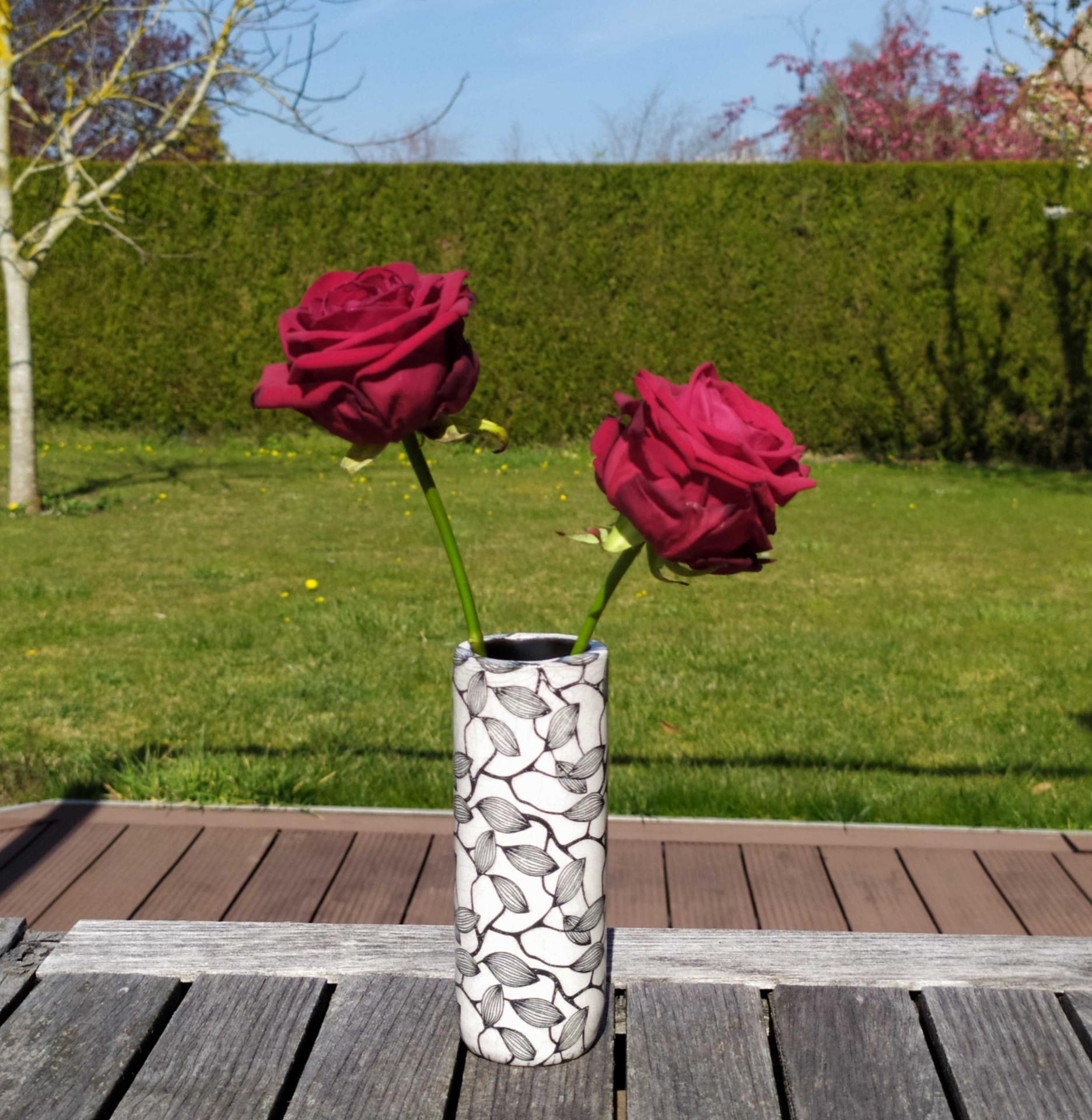 Vase petit tube feuillage4