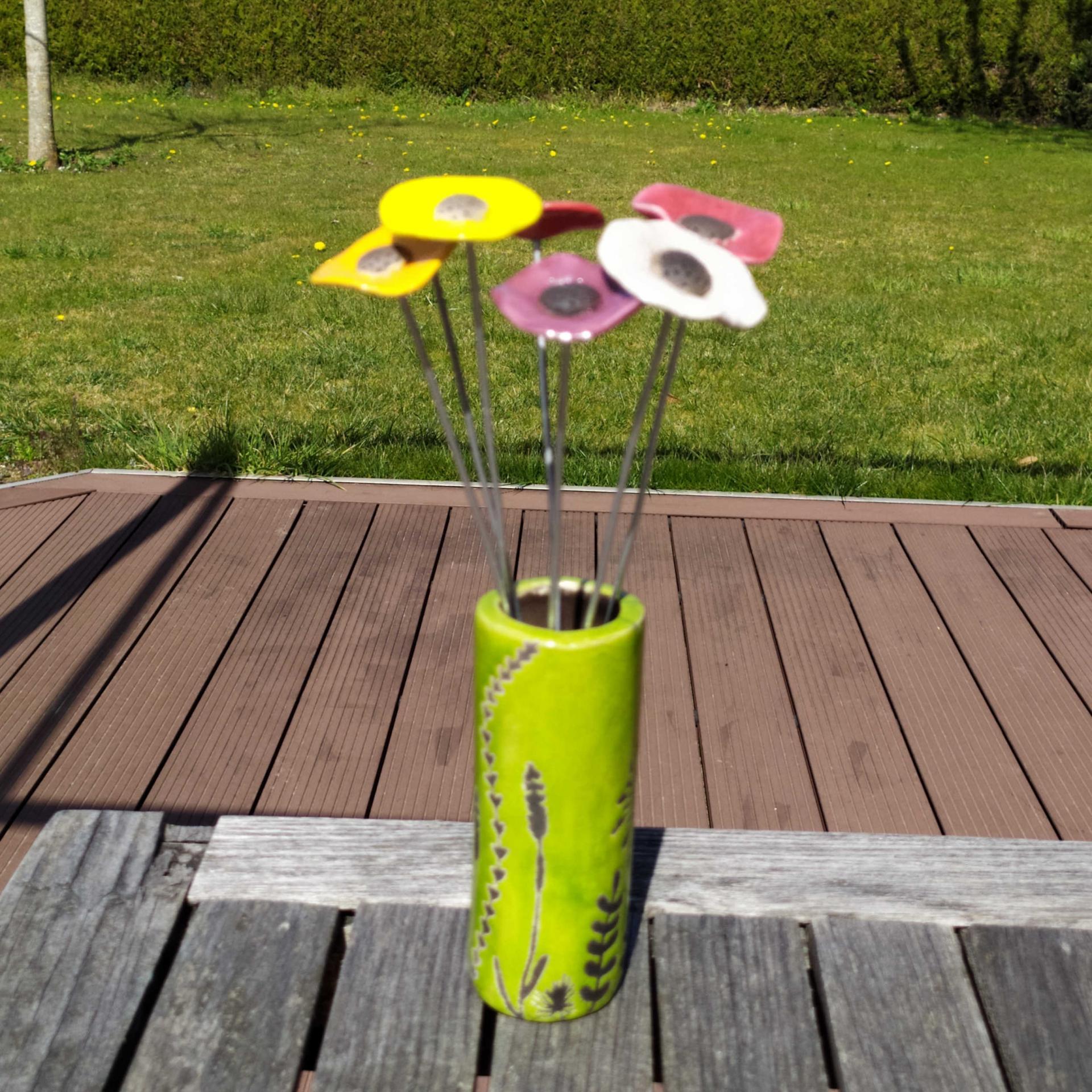 Vase petit tube hf vert1
